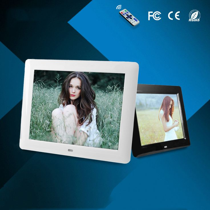 ==> [Free Shipping] Buy Best New 8 inch Fashion HD Digital Photo Frame electronic album Clock & Calendar function MP3 & Video Player Best Gift Online with LOWEST Price | 32810940331