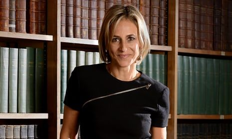 MoJ apologises to Emily Maitlis for failing to stop stalker's letters