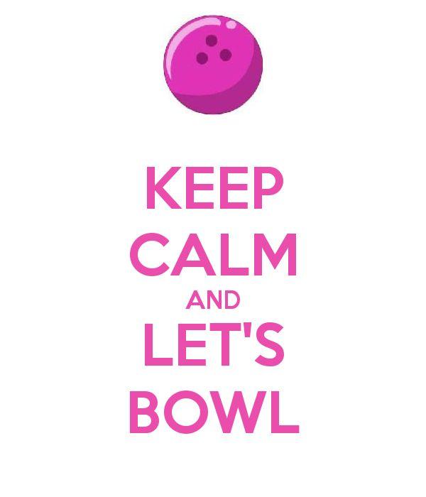 I love bowling!!!