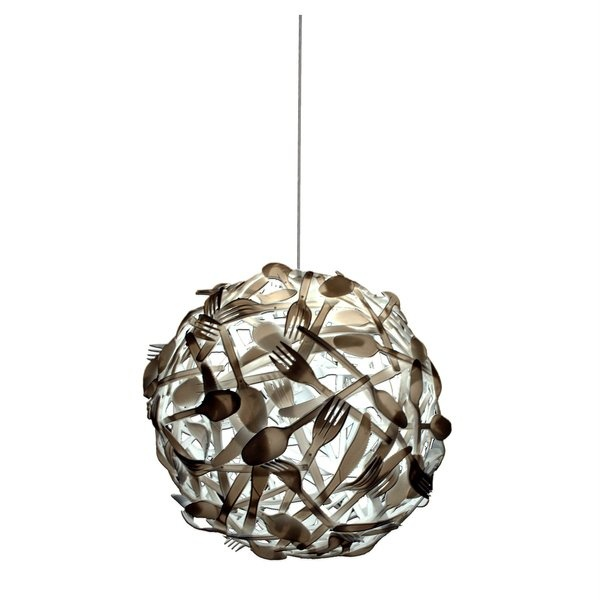 another cool upcycle!: Lamps, Idea, Forks, Recycled, Plastic Spoons, Pendants Lights, Diy, Design, Luis Luna