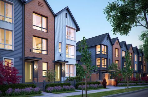 CGarchitect - Professional 3D Architectural Visualization User Community | Townhouses