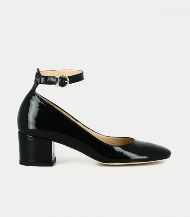 French fashion brands - Jonak Ankle Strap Shoes