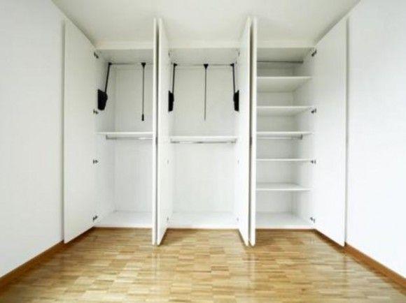 25 melhores ideias sobre guarda roupa embutido no pinterest closet embutido guarda roupa - Como forrar un armario por dentro ...