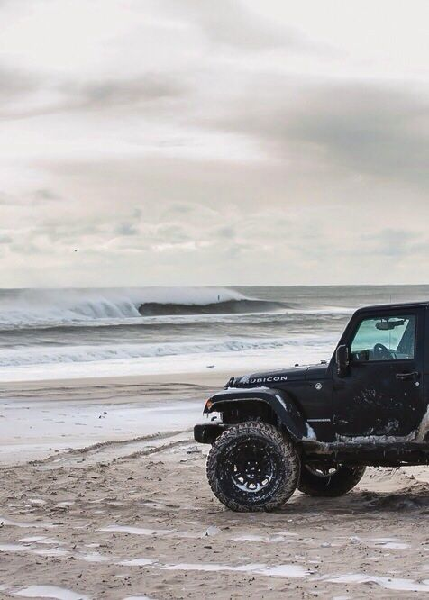 Always said if I live back in a beach town-- wrangler it is