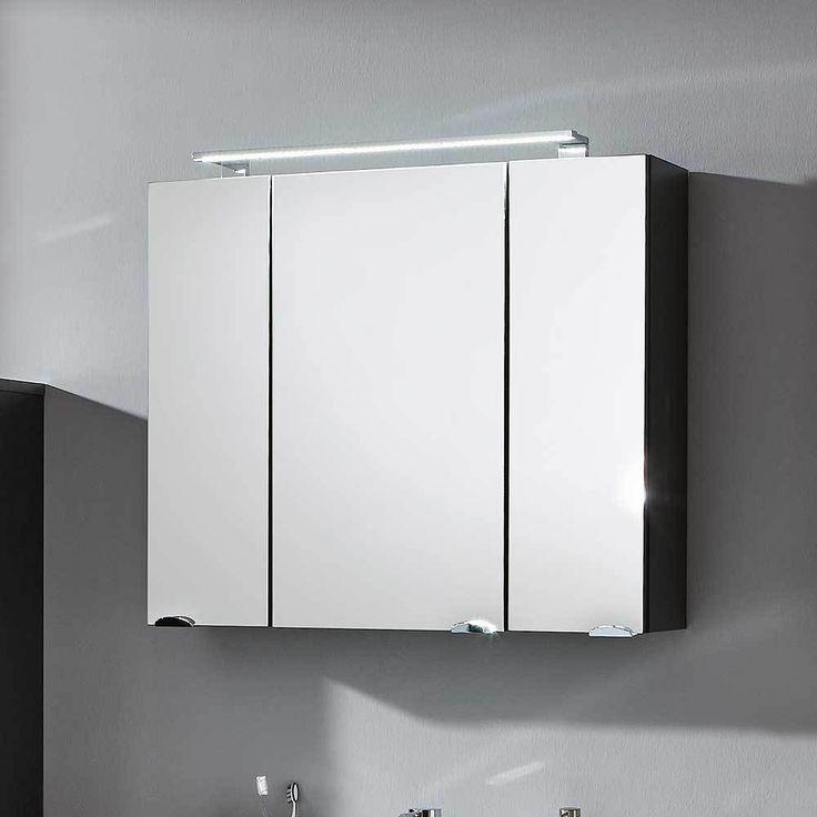 3D Spiegelschrank In Anthrazit 80 Cm Jetzt Bestellen Unter:  Https://moebel.ladendirekt.de/bad/badmoebel/spiegelschraenke/?uidu003d19a34e00 4a16 5c3e 8757   ...