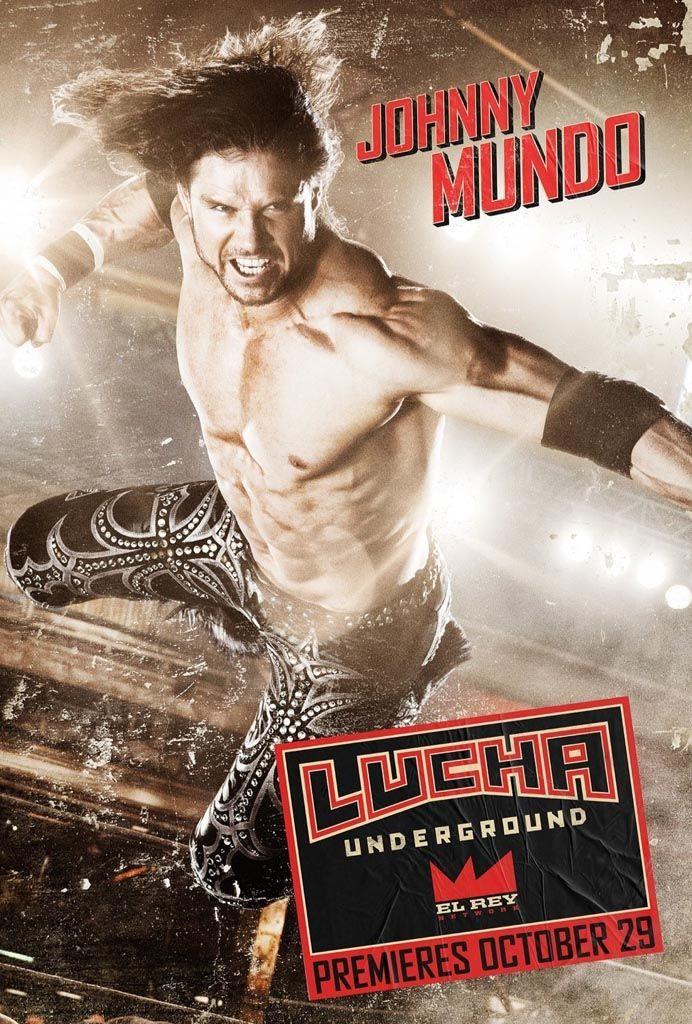 Johnny Mundo (formerly John Morrison) — Lucha Underground