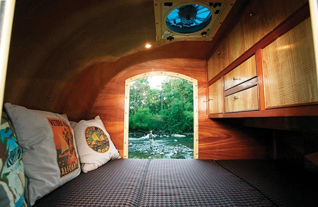 tear drop campers | Teardrop campers have been around since the 40′s and have gone ...
