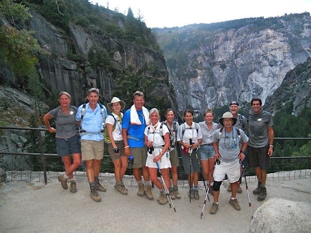 One of our hiking trips to #HalfDome in Yosemite National Park, California!