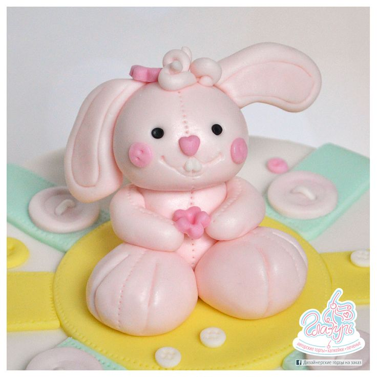 Cake Pink Little Rabbit https://www.facebook.com/katrin.smirnova.3958