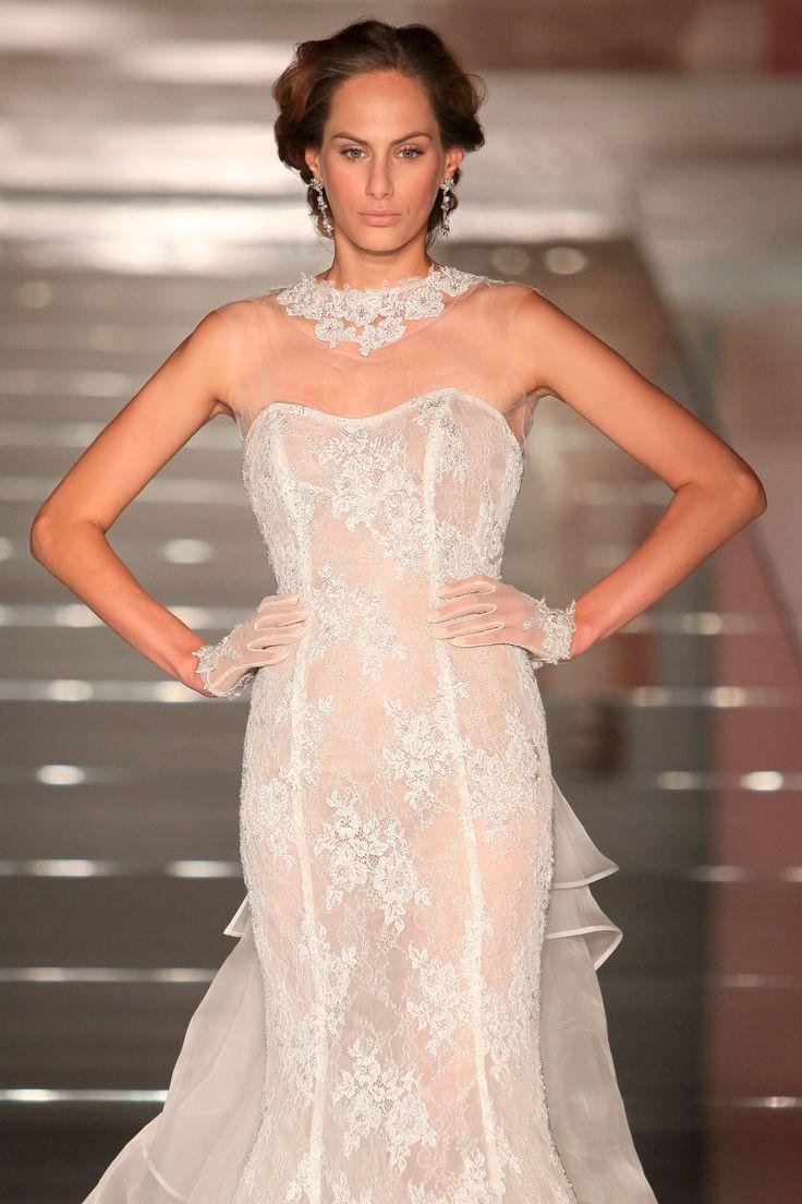 Wedding Dress Nicole - Collection ALESSANDRARINAUDOLOOKBOOK SWINDE ARAB15645IV 2015