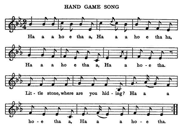 Native American Games - Hand Game Song