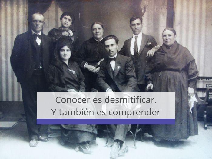 El tataranieto Luis Ángel García Prieto explica qué le llevó a escribir un libro sobre su familia
