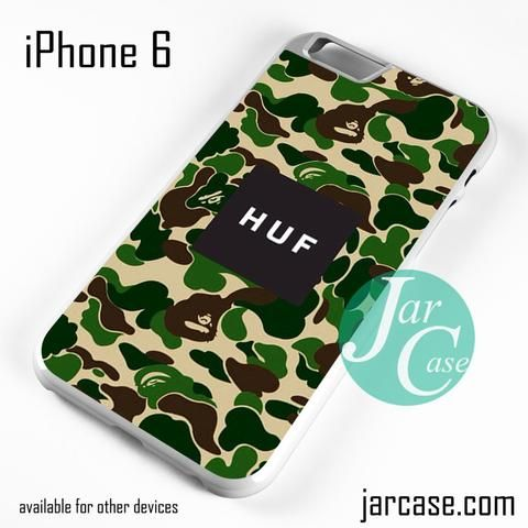HUF Camo Phone case for iPhone 6 and other iPhone devices