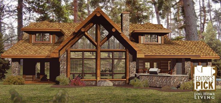 Amber Ridge - Log Homes, Cabins and Log Home Floor Plans