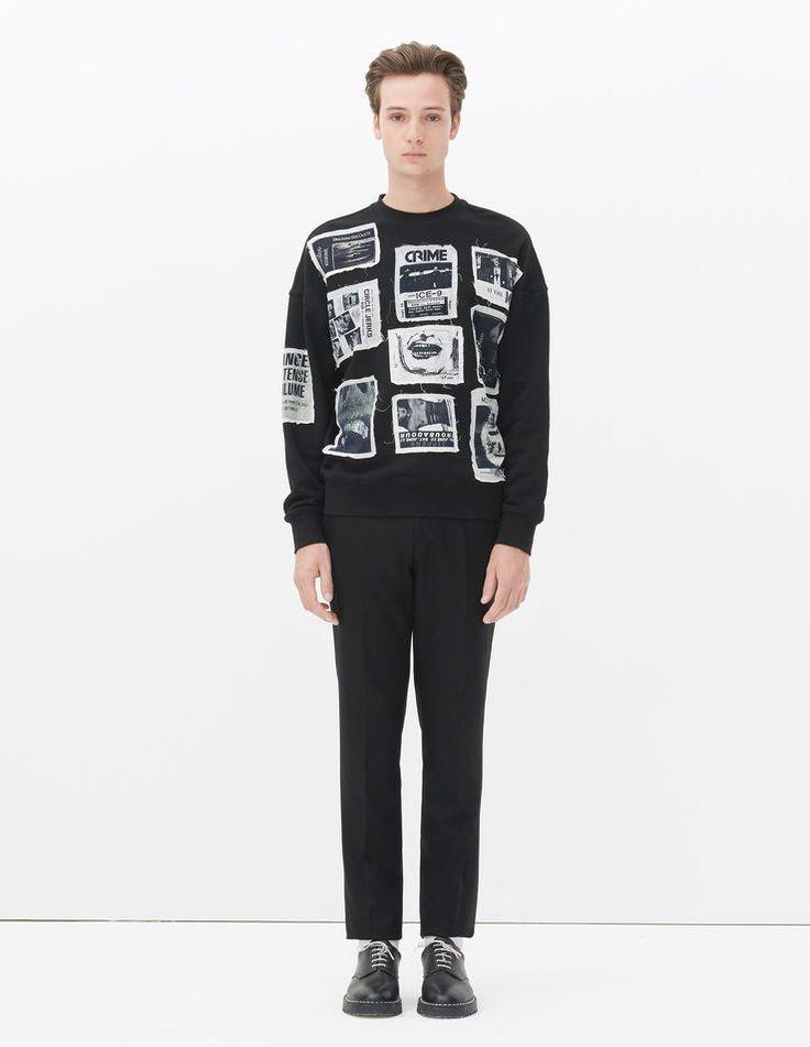 Flyers Sweatshirt - Fall-Winter Collection - Sandro Paris