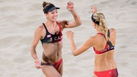 Jamie Broder and Kristina Valjasgot their first victory at their Rio 2016 opening match on Sunday. The Canadian duo started...