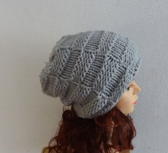 Unisex Sacking Winter Hat  Autumn Accessories Slouchy by Ifonka, $32.00