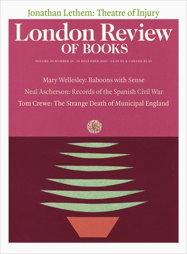 23 best london review of books 2016 images on pinterest books 2016 london review of books 15 december 2016 cover anne rothenstein fandeluxe Choice Image