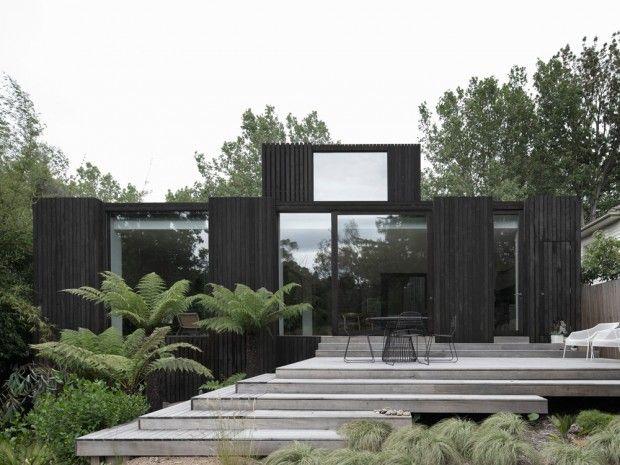 House a maison qui dialogue avec le paysage à melbourne par walterwalter