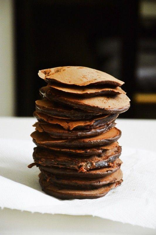 Moje Wypieki | Czekoladowe pancakes
