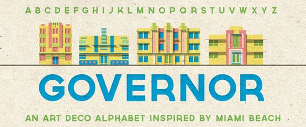Governor ( Free Fonts for Designers - Download Now )