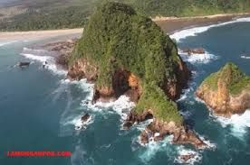 RED ISLAND IN BANYUWANGI INDONESIA