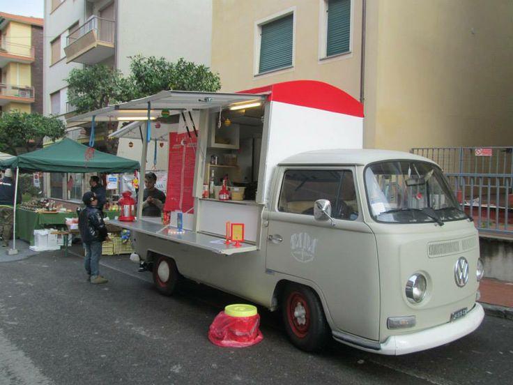 Vw T2 Street Food Food Truck Pinterest Street Food