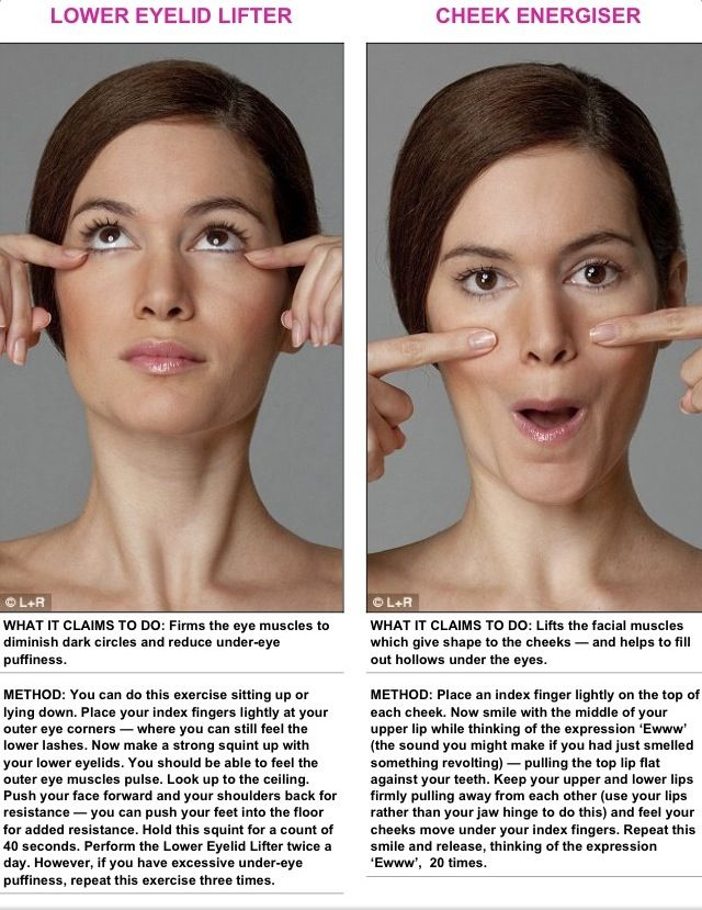 how to lose facial fat and tone face