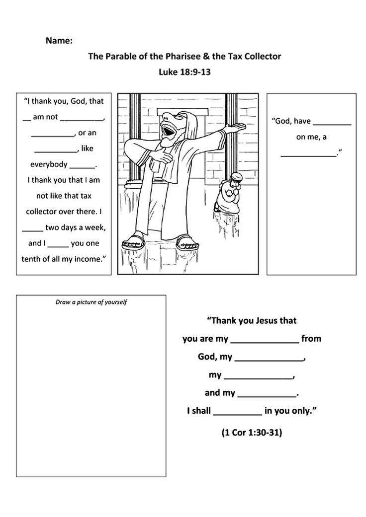 matthew the tax collector coloring page - 17 best images about bible jesus parables on pinterest