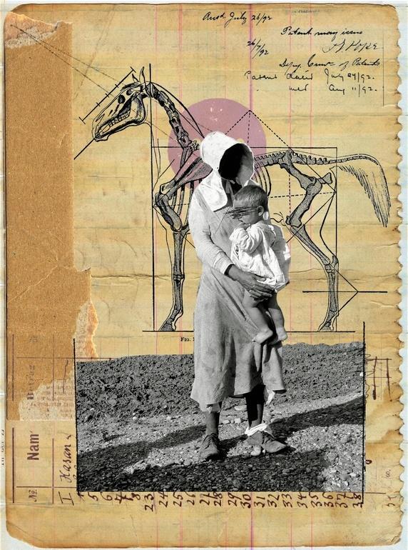 """Saatchi Online Artist: Franz Falckenhaus; Digital, 2012, Assemblage / Collage """"Black Hole's Son"""""""