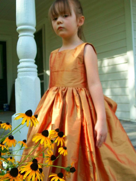 Flower Girl Dress By Mapletree2000 On Etsy Ideas From A