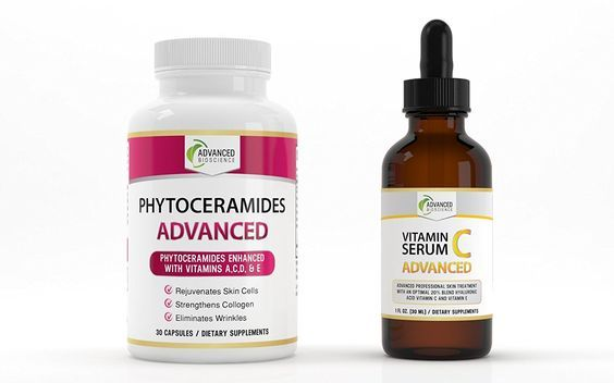 "Vitamin C Serum PLUS Phytoceramides! (COMPLETE SKIN CARE SYSTEM) - -LOOK AT OUR REVIEWS!!! All Natural Pure Phytoceramides Extract With The TV Doctor's Required Collagen Producing Formula Perfectly Matched to a Premium FULL STRENGTH Vegan Hyaluronic Acid and Vitamin E enhanced Vitamin C Serum for FAST RESULTS to Help You LOOK AMAZING! - 2 BEST SELLING PRODUCTS FOR THE PRICE OF 1! (BUNDLE) - - A to Z 100% Satisfaction GUARANTEE! - - Click The Yellow ""Add To Cart"" Button On The Right! * Se"