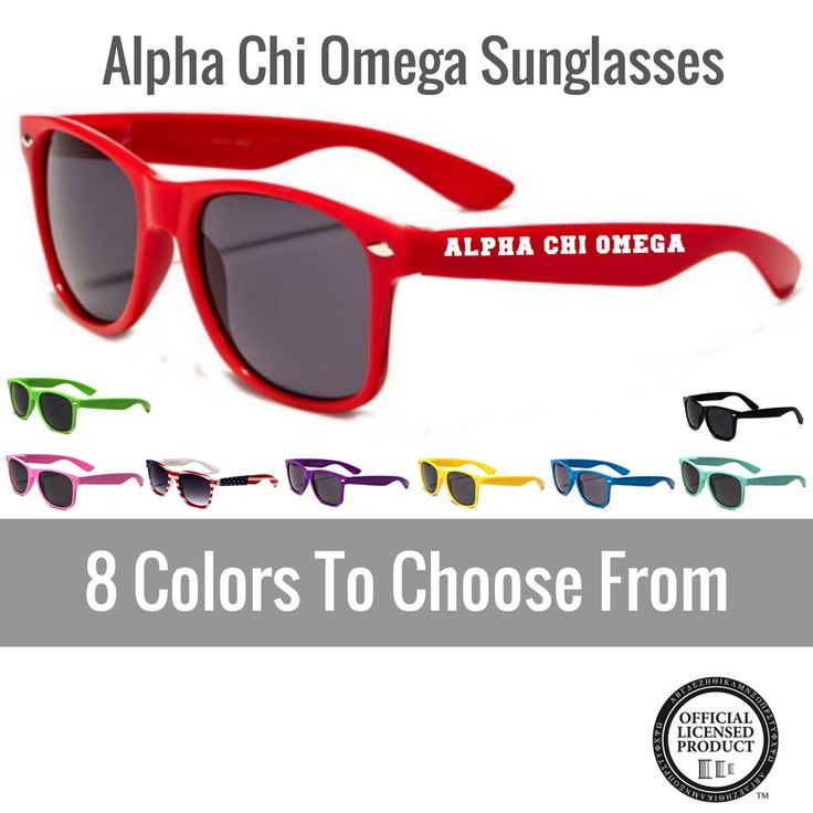 Have you seen? Alpha Chi Omega S... Shop http://manddsororitygifts.com/products/alpha-chi-omega-sunglasses-rayban?utm_campaign=social_autopilot&utm_source=pin&utm_medium=pin