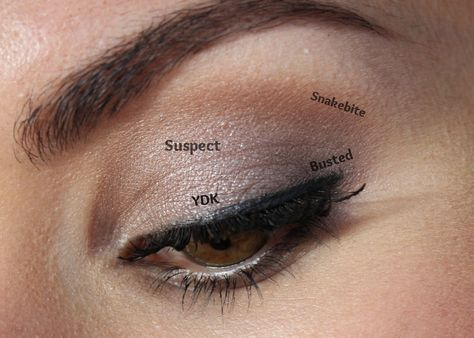 BEAUTY & LE CHIC: How to: Naked 2 Smokey Eye