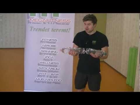 A kar edzése otthoni eszközökkel - SportolOK Fitnesz videósorozat 11.rész - YouTube