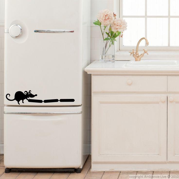 Les 25 meilleures id es de la cat gorie autocollants - Stickers pour refrigerateur ...