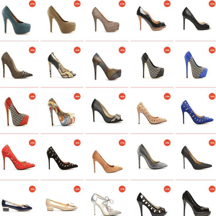 Pantofi cu toc inalt pentru banchet