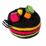 littlekiwisnest.co.nz - Gorgeous Licorice Allsorts Hat