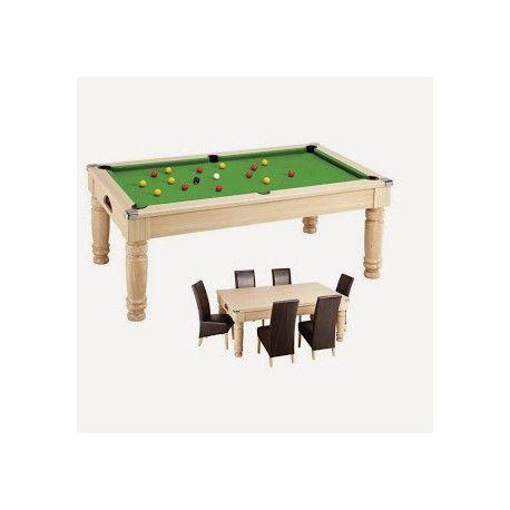 Billard table diners - pool anglais 7ft Chêne clair - 1 530,00 €  #Jeux