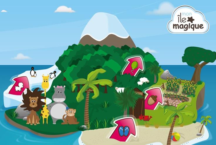 Application iPad - Mon Île Magique