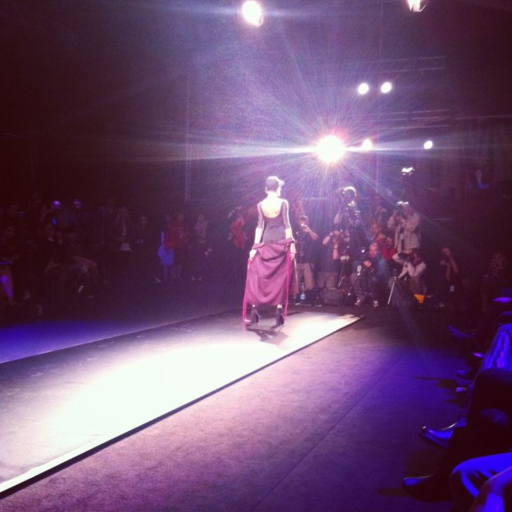 instagram - first row at @ODIVI show