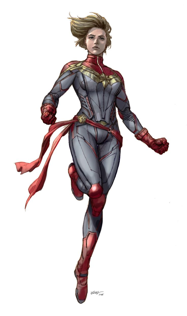 captain marvel Ver. Jong Hwan, Jong Hwan on ArtStation at https://www.artstation.com/artwork/zmkYD