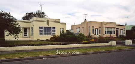 Houses, Napier, New Zealand