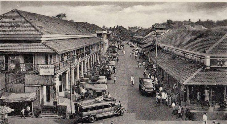 #BringGoa2UrTimeline  An old photo of the Majestic Margao Market.  #Margao #Market #Place #Business #Hub  Photo Courtesy: Memórias da India Portuguesa