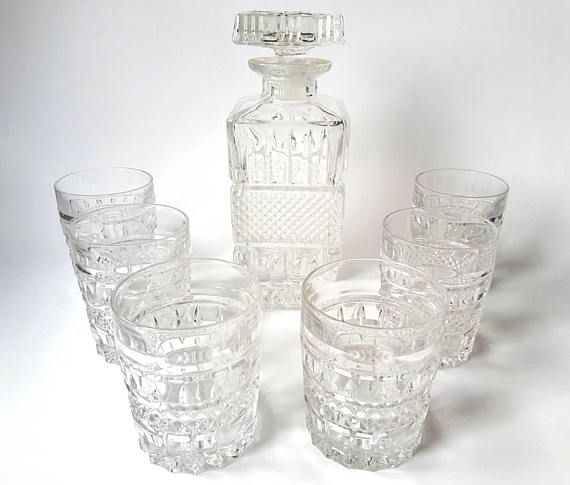 Check out this item in my Etsy shop https://www.etsy.com/listing/542664662/bohemia-crystal-cut-glass-whisky-set