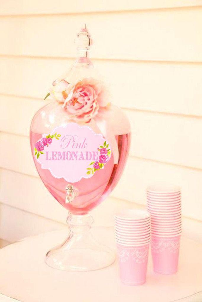 vasos rosados