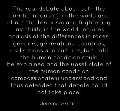 Quote by Jeremy Griffith