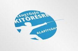 Lehetőség a Kitörésre Alapítvány logóterv