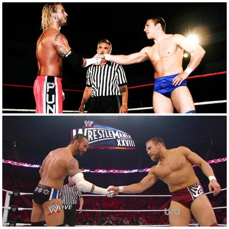CM Punk & Daniel Bryan. Then & Now!