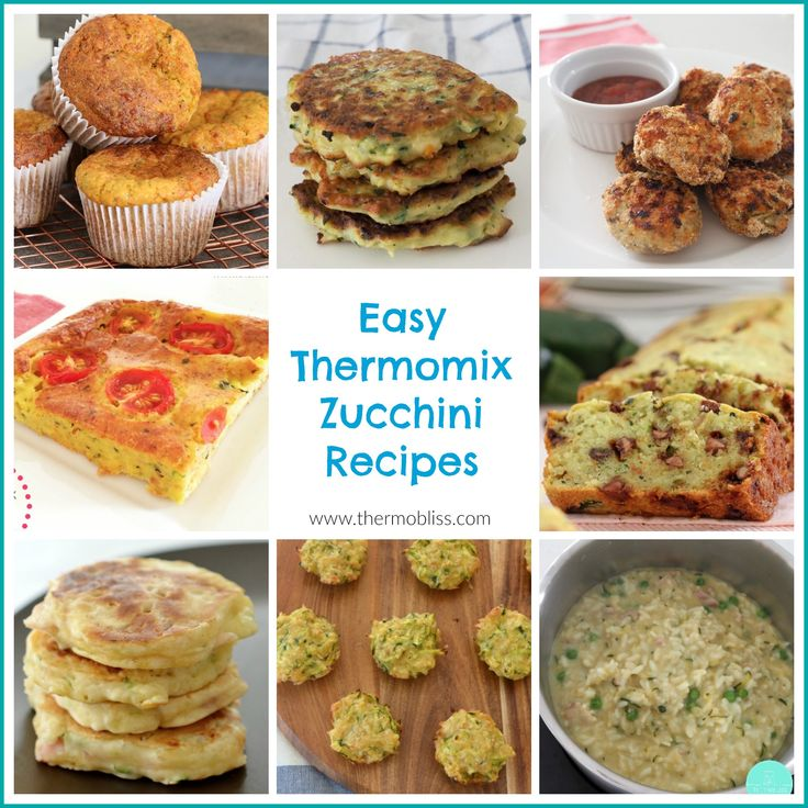 I decided to put together this collection of Thermomix Zucchini recipes as a handy reference for both myself and you guys to help give you some ideas on how to cook with this versatile veggie - enjoy!